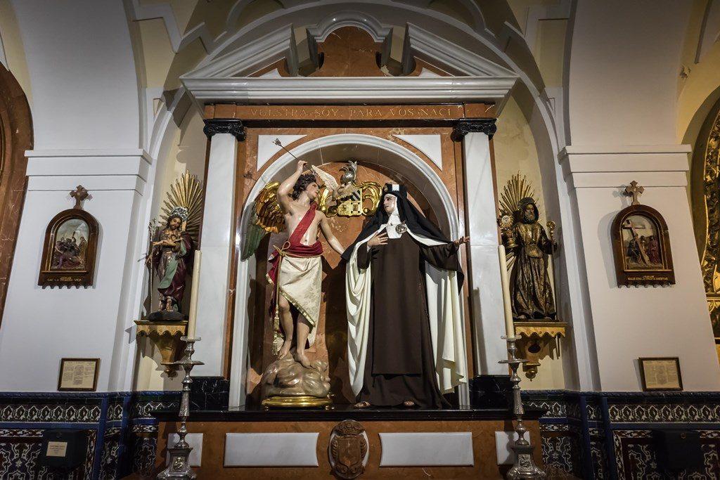 Altar de Santa Teresa de Jesús