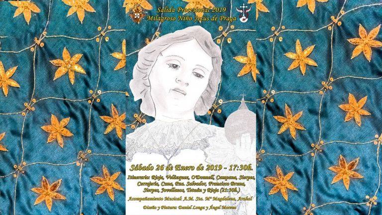 Cabecera Cartel Salida Niño Jesús de Praga 2019
