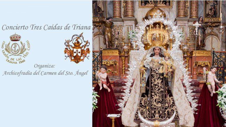 Concierto Tres Caídas de Triana Santo Ángel