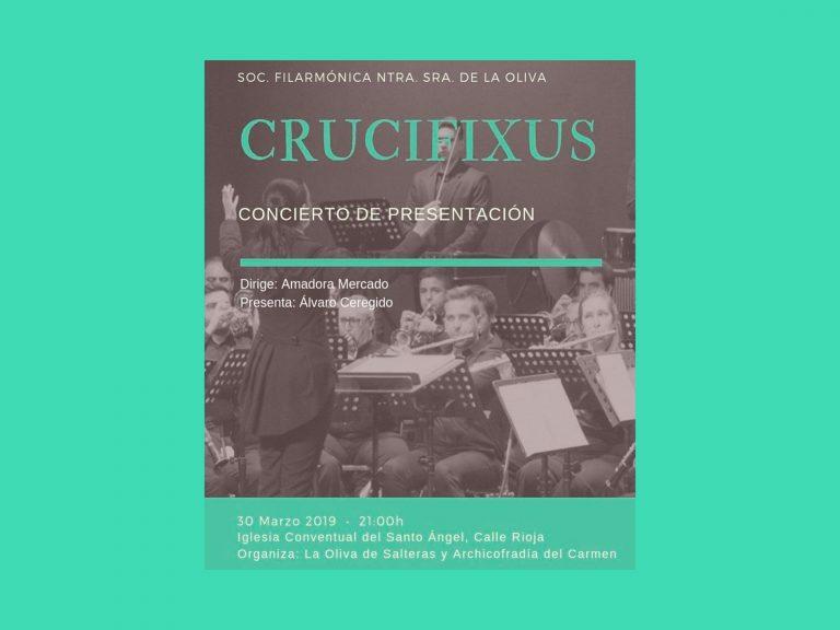 Presentación CD Crucifixus Oliva Salteras