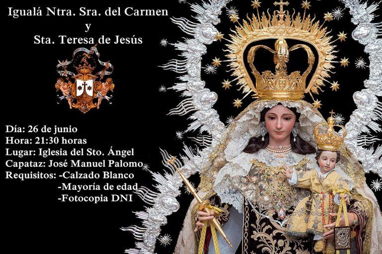 Igualá Virgen del Carmen y Santa Teresa de Jesús 2019
