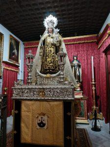 Procesión Claustral Nuestra Señora del Carmen del Santo Ángel