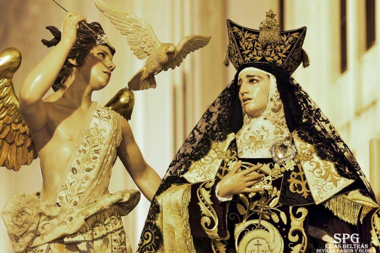 Salida Virgen del Carmen del Santo Ángel 2019