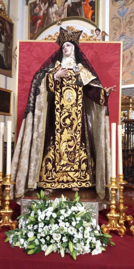Triduo en Honor a Santa Teresa de Jesús 2019