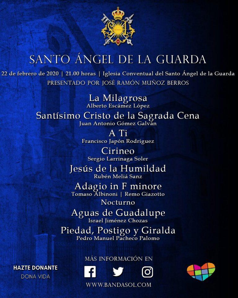 Concierto de la Banda del Sol en la Iglesia del Santo Ángel