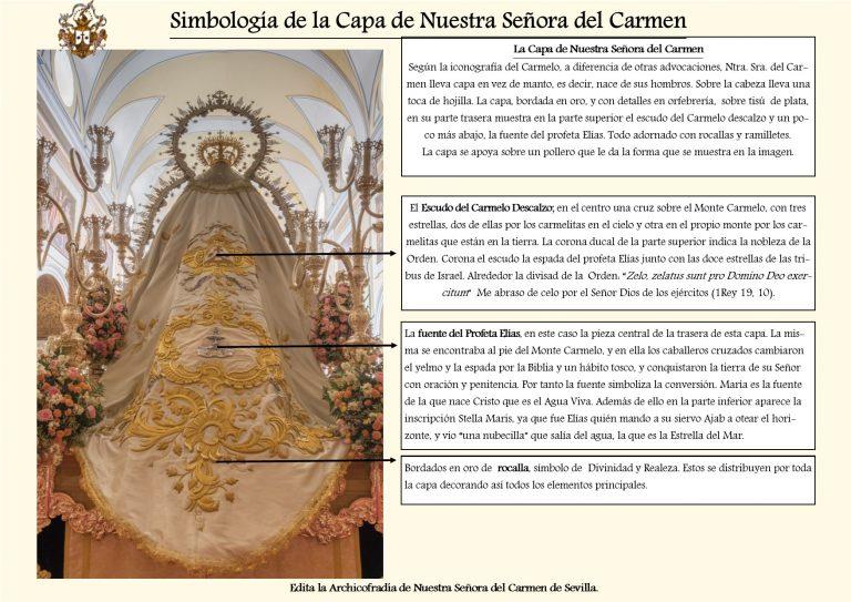 Capa de Nuestra Señora del Carmen