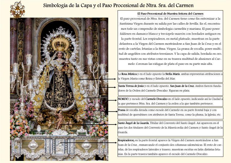 El Paso Procesional de Nuestra Señora del Carmen